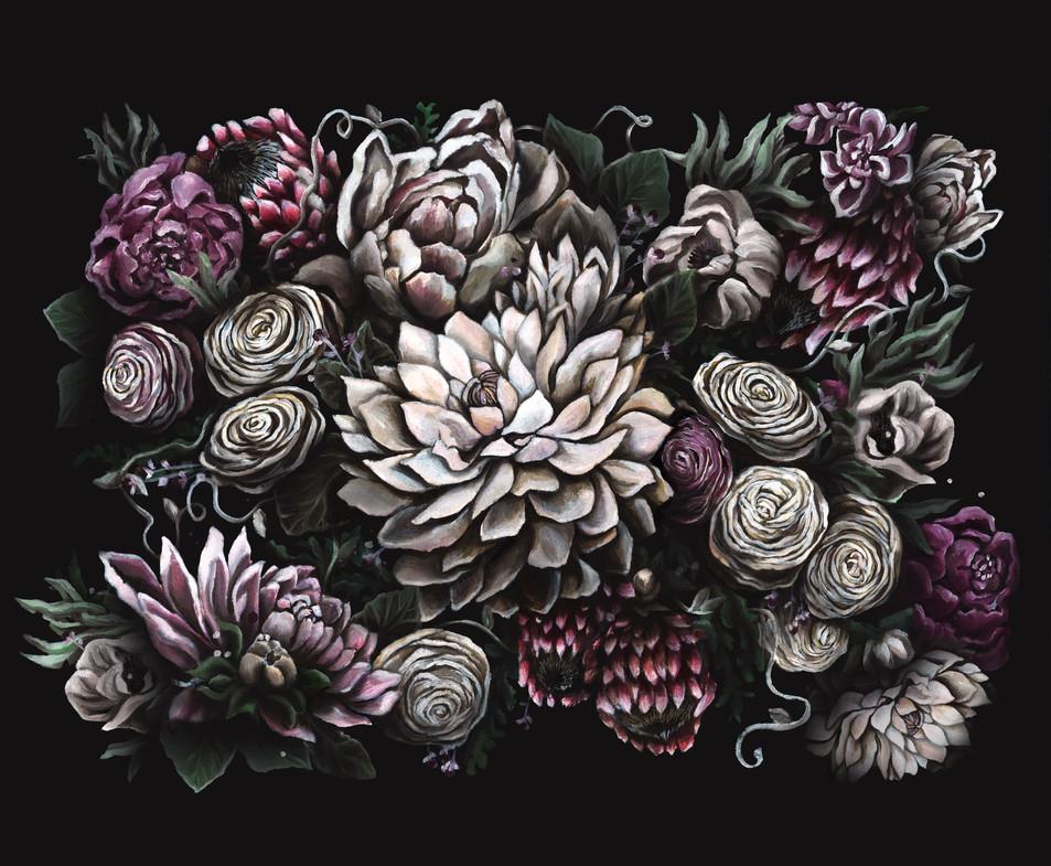 Dark Florals 2