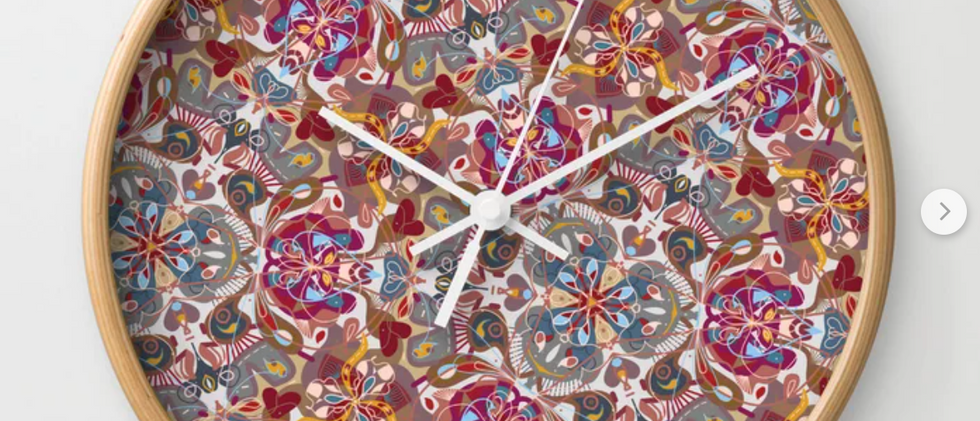 Kaleido Fave Wall Clock