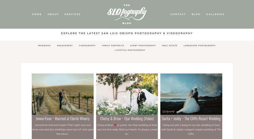SLOtography Blog web
