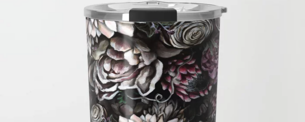 Florals Galore Travel Mug