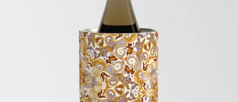 Leafy Mustard Wine Chiller