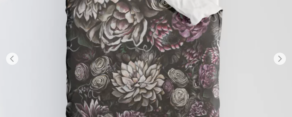 Florals Galore Duvet Cover