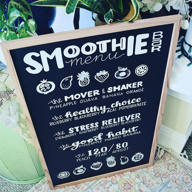 I love smoothies. They are definitely on