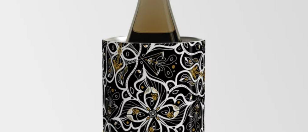 Black Pansy Wine Chiller