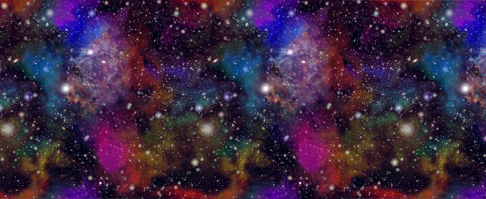 Rainbow Galaxy Pattern