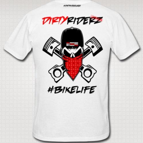 Tee Shirt #DIRTYSKULL (Honda)