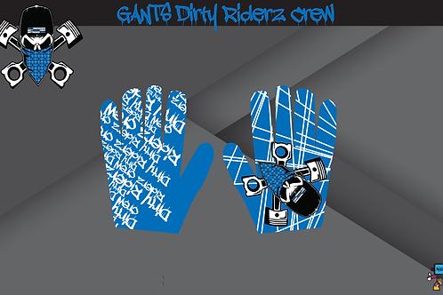 Dirty Riderz Gloves (Bleu/Yamaha)