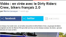 Dirty Riderz Crew // Dirty reportage en direct de KONBINI...