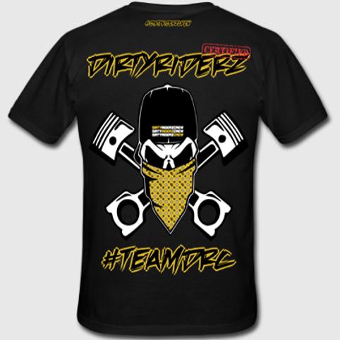 Tee Shirt #TEAMDRC (Noir et Or)