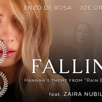 FALLING Poster with prize