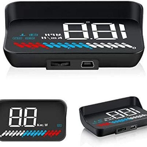 Car HUD Head up Display, iKiKin HUD GPS OBD2 Dual Syste