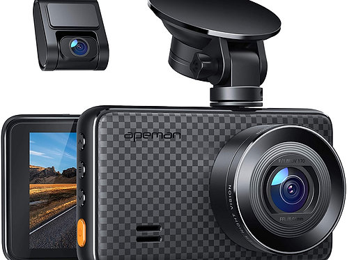 APEMAN 1440P&1080P Dual Dash Cam