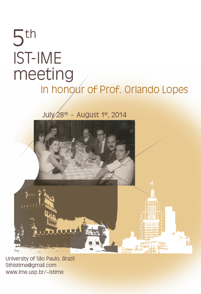Cartaz 5th Meeting | IME