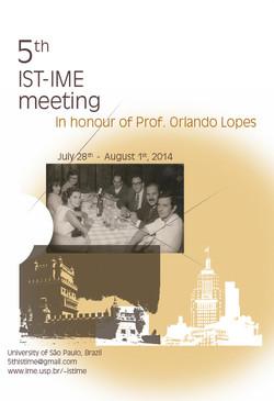 Cartaz 5th Meeting | IME