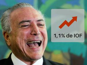 Governo eleva para 1,1% alíquota sobre remessas de Disponibilidade no Exterior