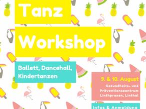 Tanz Workshop 9. & 10. August 2021