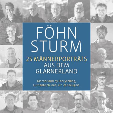 FÖHNSTURM-25 Männerporträts aus dem Glarnerland