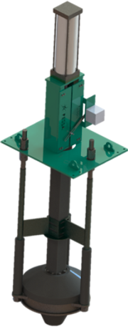Dart valve for atmospheric systems