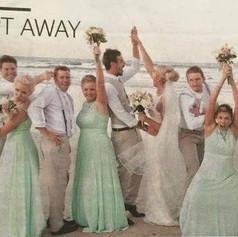 Gold Coast Bulletin Real Wedding