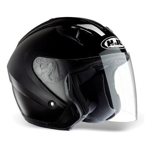 HJC IS-33 ii Openface Helmets Gloss Black