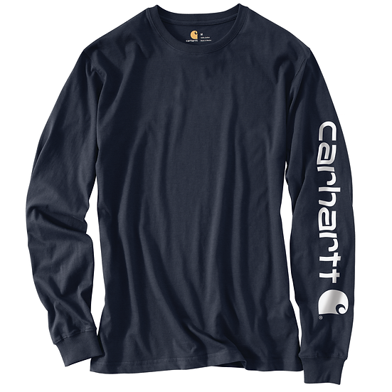 Loose Fit Heavyweight Long-Sleeve Graphic T-Shirt