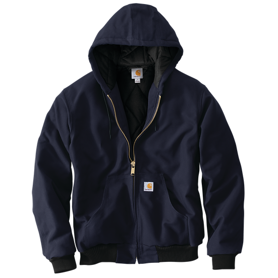 Loose Fit Firm Duck Insulated Flannel-Lined Active Jac