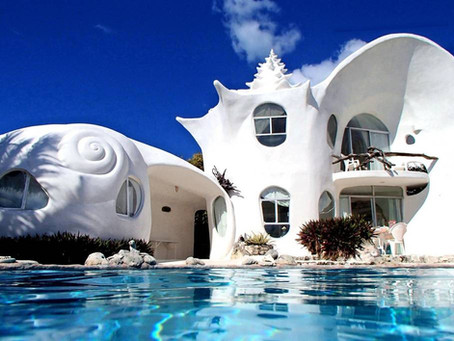 STAY IN MEXICO'S FAMOUS SEASHELL HOUSE