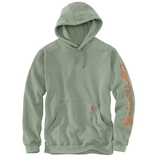 Loose Fit Midweight Logo Sleeve Graphic Sweatshirt