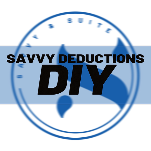 Savvy Deductions DIY
