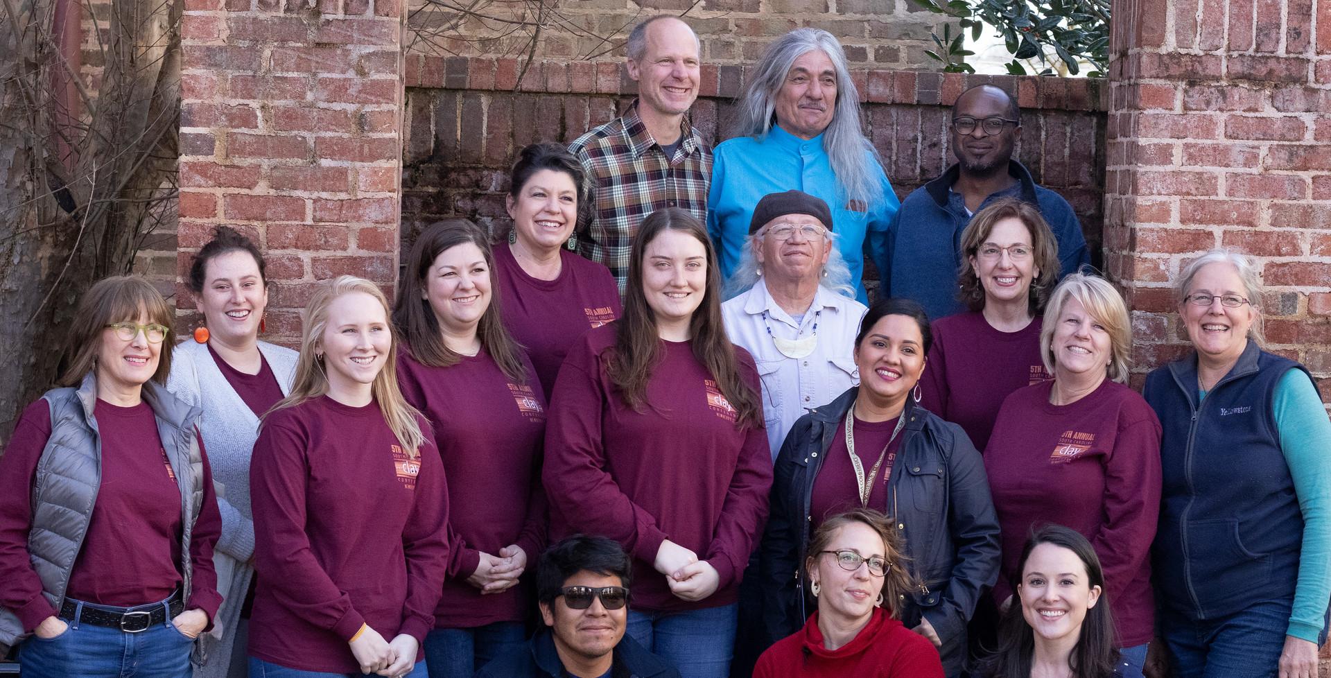 staff & volunteer group