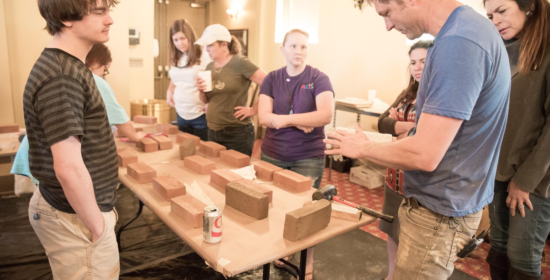 Brick Making at SCCC
