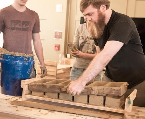 Brick Making Demo