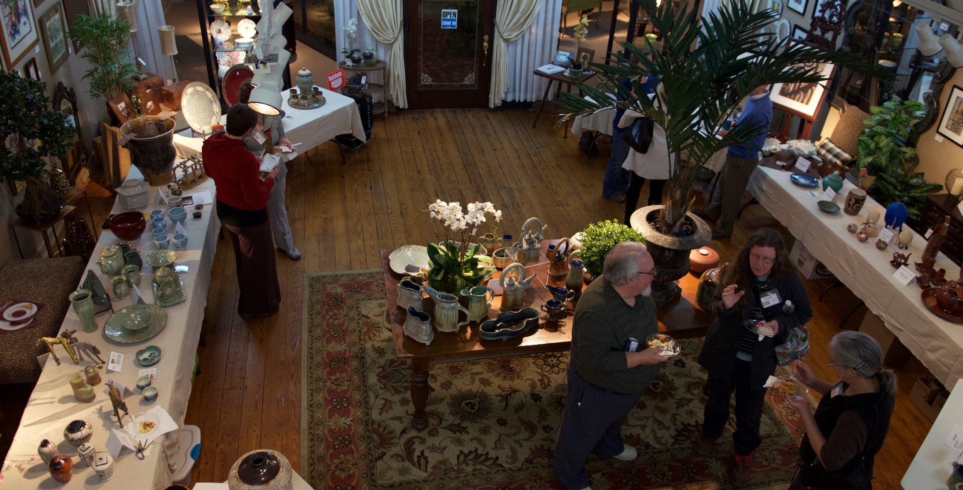 Pottery Sale and Reception