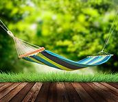 Relaxing on hammock in garden.jpg