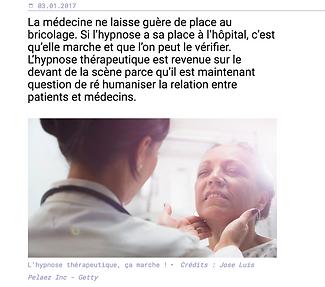 Hypnose thérapeutique, Emmanuel Sabourert