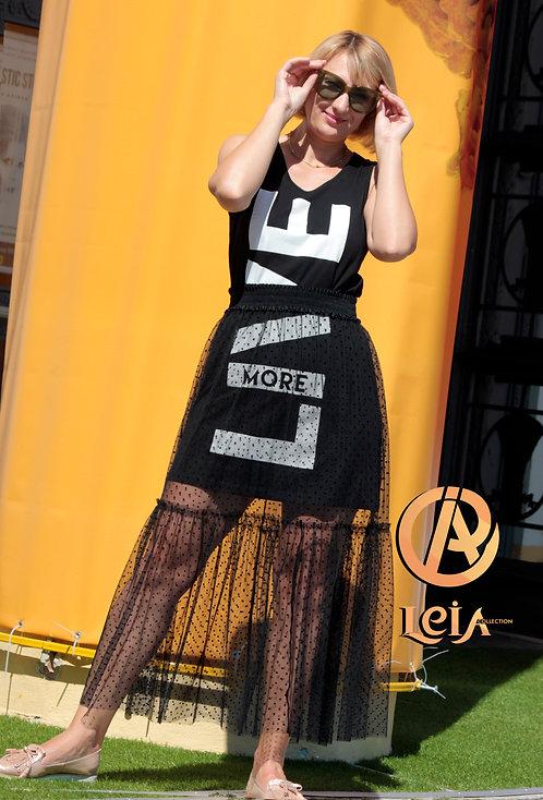 Юбка из фатина, прозрачная юбка ,юбка Диор, украинский производитель одежды.