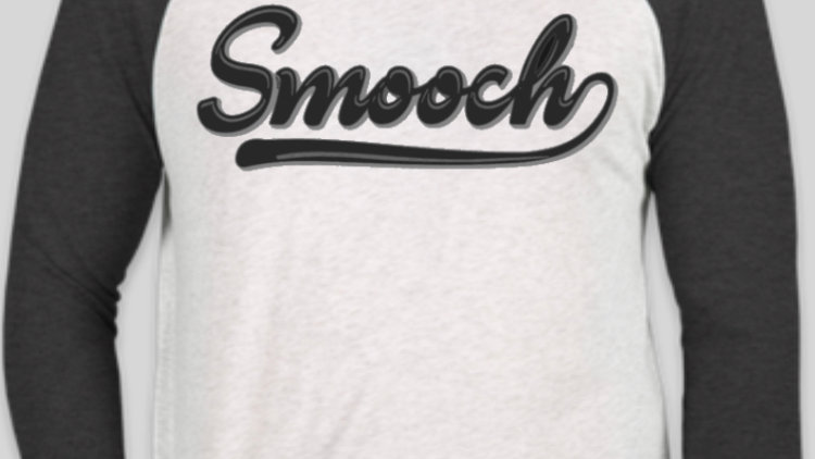 Smooch Baseball Tee