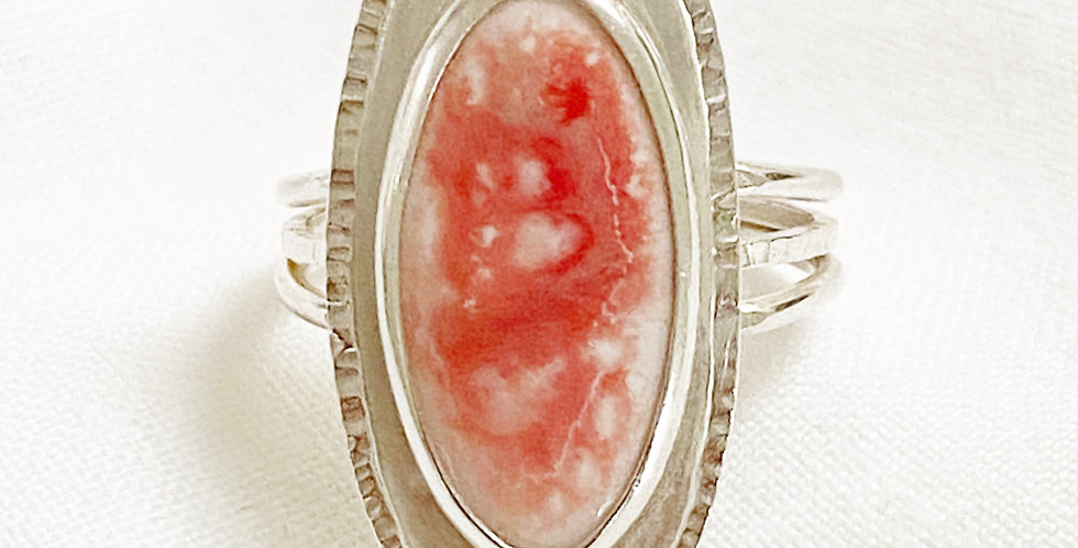 Peachy Oval Ring