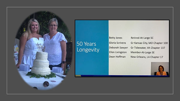 Congrats Debbie on your 50yr committment
