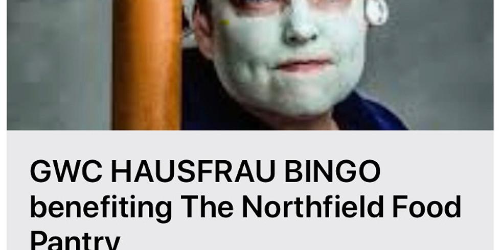 GWC Hausfrau Bingo Benefiting the Northfield Food Pantry