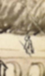 Calligraphie d'un moine taoïste