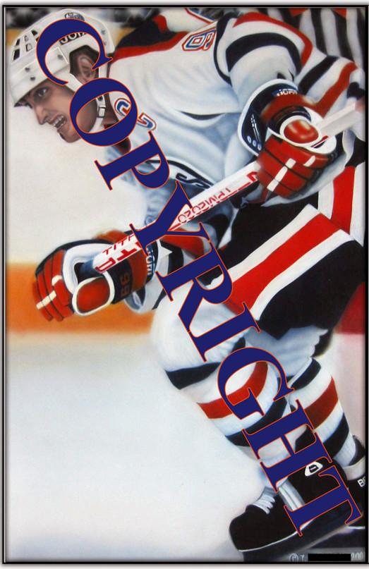 'Oilpower' - Wayne Gretzky 2001