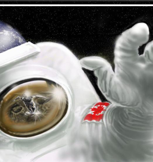 Astronaut speedpainting