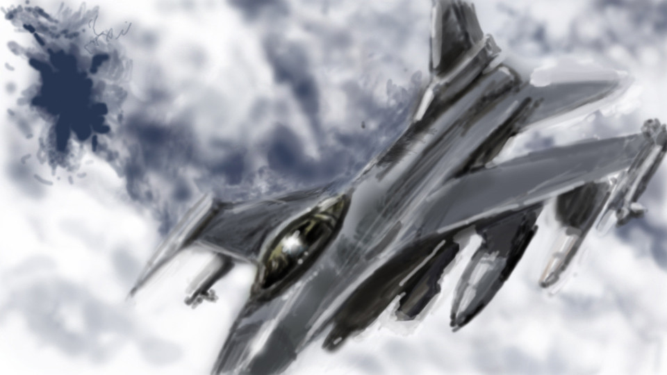 Jet speedpainting
