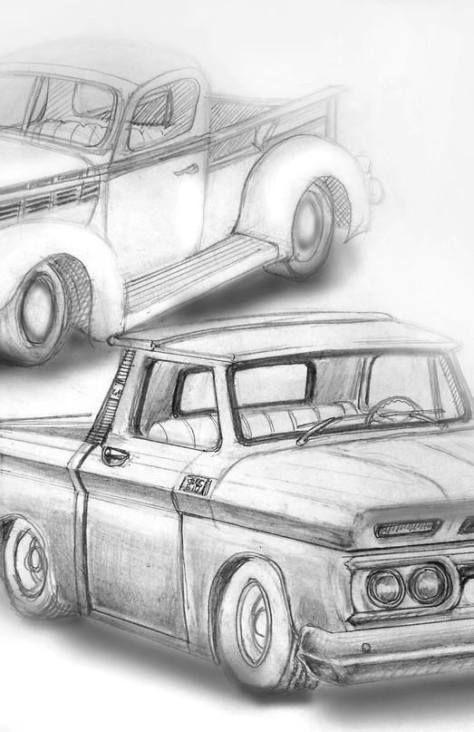 GMC Concept Sketches