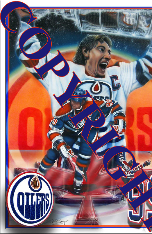 'The Greatest One- An Icon Rising'  Wayne Gretzky 1999