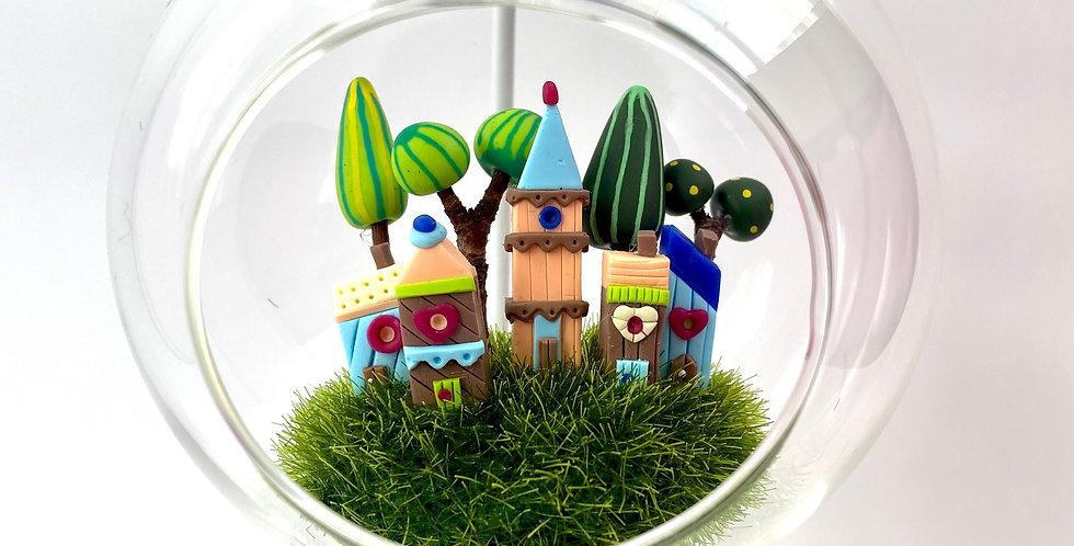 Boule de rêve Village - vendu avec le support *