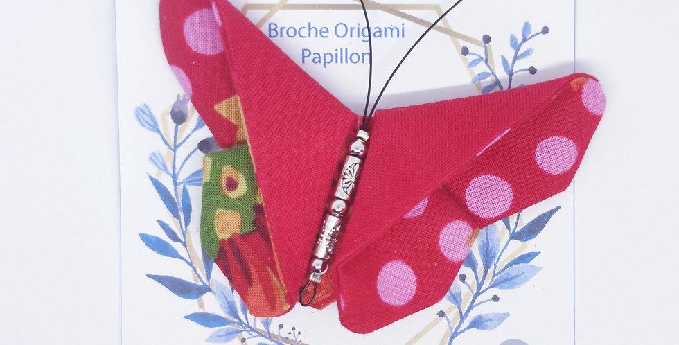 Broche origami papillon - ref1