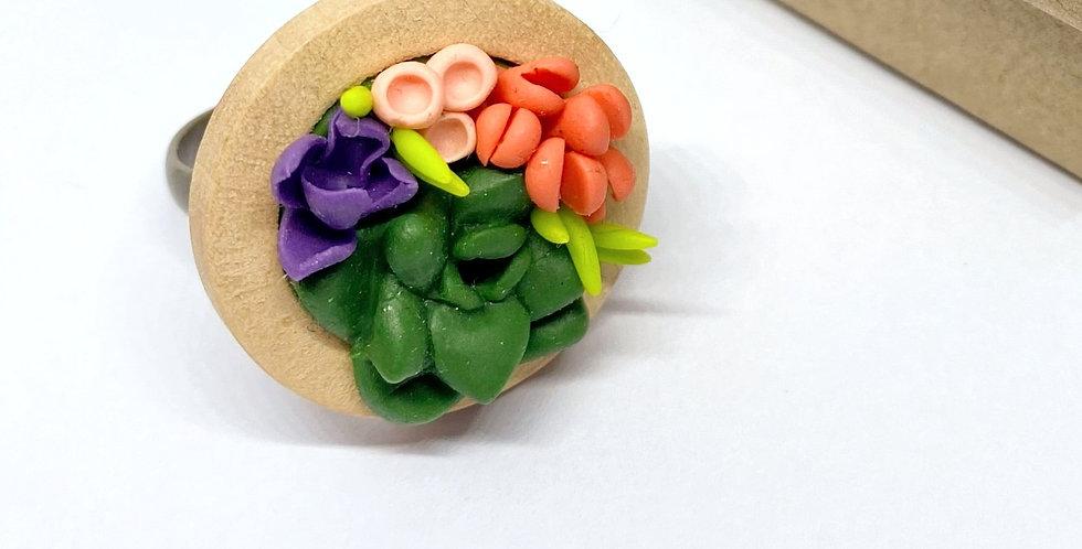 Bague végétale- ref5