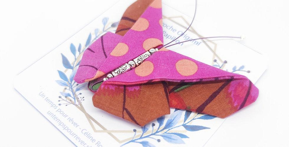 Broche origami papillon - ref3
